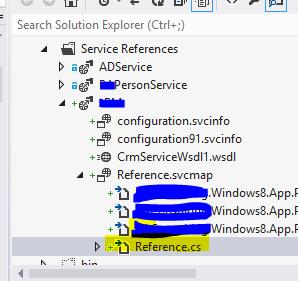 Open references file